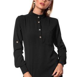Рубашка sl-artmon 451.2 xs-s черный (18119-151model525)