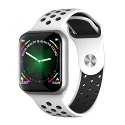 Смарт-часы lemfo f8 с тонометром серебристый (swlemf8silv)