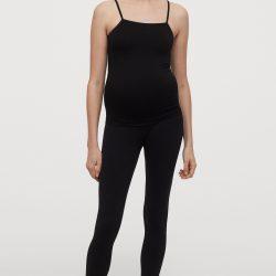 Майка для беременных h&m 83300015 s черный (2000000899466)