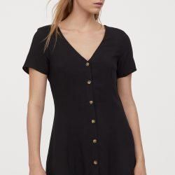 Платье h&m 80750005 32 черный (2000000901381)