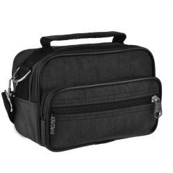 Мужская сумка-барсетка wallaby 18х13х8.5 см черный (в 2663ч)