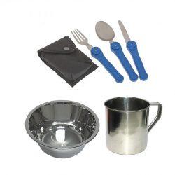Набор посуды туристический 5 в 1 (132-1312358)
