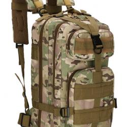 Военный рюкзак tactical b02 25 литров мультикам (hub_azht77052)