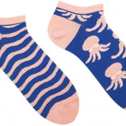 Короткие носки мужские sammy icon octo short 40-46 сине-кремовые (009545)