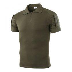 Тактическая футболка с коротким рукавом esdy a416 мужская зеленая (4251-12491)