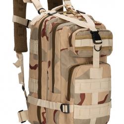 Военный рюкзак tactical b02 25 л песочный (hub_ormr12505)