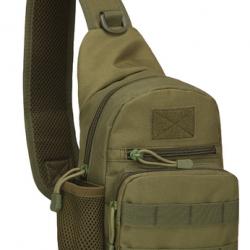 Тактическая/ штурмовая/ военная/ городская сумка tactical a14 хаки (hub_hywn14447)