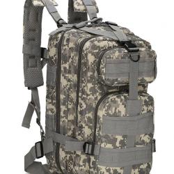 Военный рюкзак b02 tactical 25 л хаки (hub_fkgi93390)