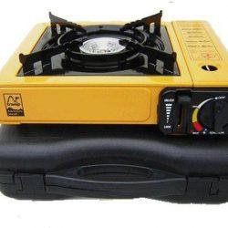 Газовая плита портативна 2 в 1 tramp trg-006 желтый (002510)