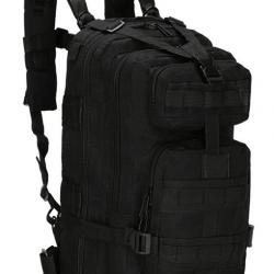 Военный рюкзак tactical b02 25 л черный (hub_nrwz22928)
