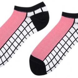 Носки короткие мужские sammy icon naples short 40-46 черно-белые (009567)