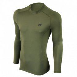 Кофта спортивная мужская с длинным рукавом radical army ls m-xxl хаки
