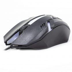 Мышь компьютерная jeqang m-318 проводная black (3244-9686)