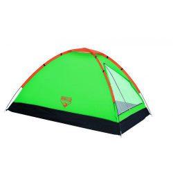 Палатка туристическая двухместная bestway 68040 monodome салатовый (003744)