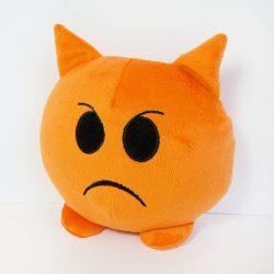 Мягкая игрушка kronos toys emoji злюка 18см (zol_617)