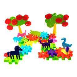 Конструктор happy farm 62 детали kronos toys (krut_0374)