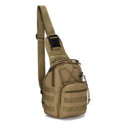 Сумка-рюкзак тактическая городская повседневная tactical b14 кайот (hub_bjjv22452)