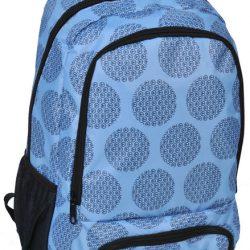 Рюкзак paso 21 л голубой (15-8122b)