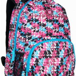 Рюкзак paso для города 21 л разноцветный (16-1838a)