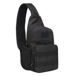 Рюкзак тактический на одно плечо aokali outdoor a14 20l black (5368-16999a)
