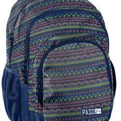 Рюкзак paso синий (18-2706pc)
