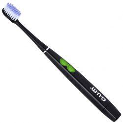 Электрическая зубная щетка gum 4100м black activital sonic power (mm00465)