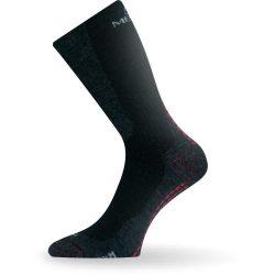 Теплые носки мужские lasting wsm размер 38-41 черные (iz00195)