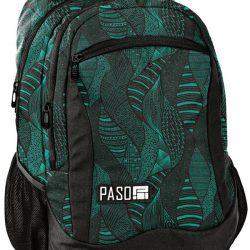 Рюкзак городской paso зеленый (18-2808gl)