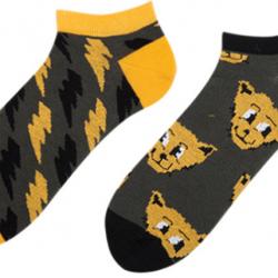 Короткие носки мужские sammy icon thundercat short 40-46 серые (009557)