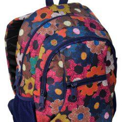 Молодежный рюкзак paso 24 л разноцветный (14-178i)
