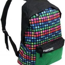 Молодежный рюкзак paso 12 л разноцветный (00-220pan)