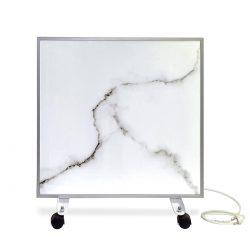 Керамический обогреватель ecoteplo air 400 me белый мрамор