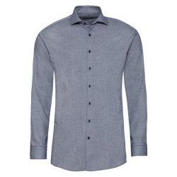 Рубашка мужская nobel league 40 серый (f01-230105)