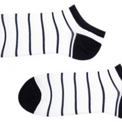 Носки мужские короткие sammy icon sea and clouds 40-46 белые (009565)