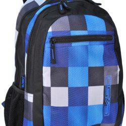 Рюкзак paso синий (14-616b)