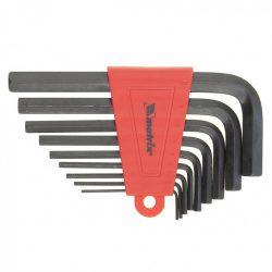 Набор ключей имбусовых mtx 1/5-10 мм crv 9 штук (112269)