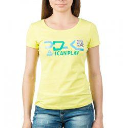 Футболка женская peak sport f652368-yel 2xs желтая (2000114207010)