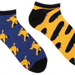 Мужские короткие носки sammy icon mullen short 40-46 цветные (009541)