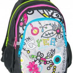 Рюкзак paso черный (bdg-699)
