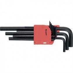Набор ключей имбусовых мтх 1.5-10 мм crv 9 штук  удлиненные (112319)