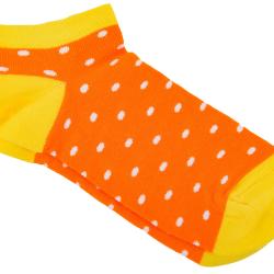 Носки мужские короткие mushka apelsinka mini dowm01 41-45 оранжевые (009513)