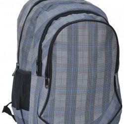 Молодежный рюкзак paso 24 л серый (15-3519 )