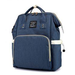 Сумка-рюкзак для мамы maikunitu mummy bag многофункциональный органайзер синий (3002-8828)