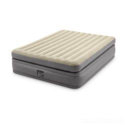 Надувная кровать двухспальная intex 64164, 152 х 203 х 51, встроенным электронасос бежевый