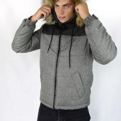 Куртка inruder alaska черно-серая (1589545910/2)