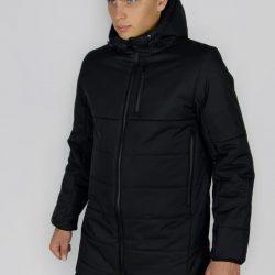 Демисезонная куртка intruder fusion черная (1589541495/2)