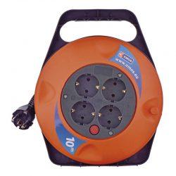 Удлинитель на катушке emos p19510 10м 1,0 мм 2300w оранжевый
