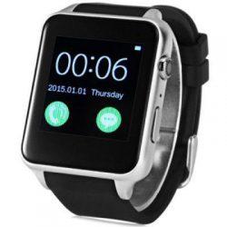 Умные часы king wear gt88 c sim картой серебристый