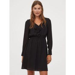 Платье h&m 80792204 36 черный (2000000896687)