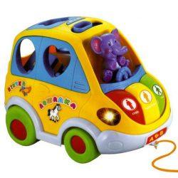 Развивающая игрушка автошка joy toy 9198 на русском языке (intjt 9198)